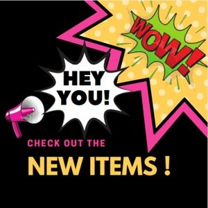 NEW ITEMS BEING ADDED DAILY